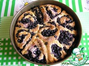 Черничный пирог рецепт с фото как готовить