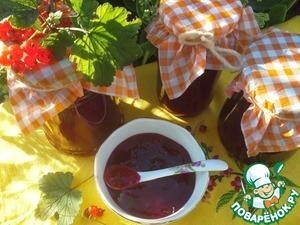 Рецепт Желе из красной смородины без варки