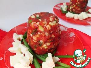 Рецепт Закусочное томатное желе