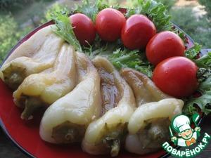 Рецепт Перец жареный в маринаде