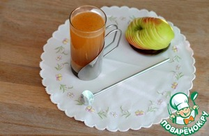Сок-суперфуд яблочный с амарантовой мукой
