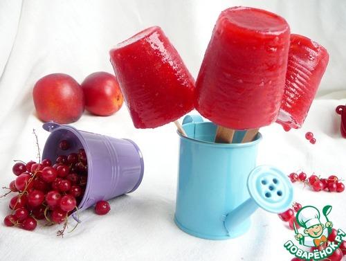 рецепт приготовления мороженого фруктовый лед