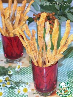 Рецепт Cоленые томатные палочки с тмином