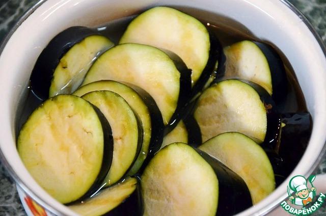 Пошаговое рецепта приготовления баклажан