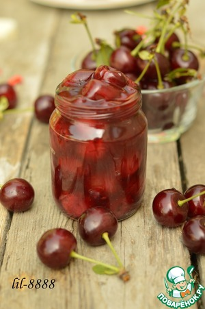 Рецепт Бальзамическая вишня