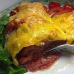 Рататуй из баклажанов, помидоров и мяса
