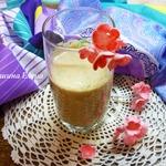 Молочно-ягодный коктейль с цикорием