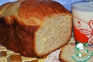 Рецепт Белый хлеб с медом и имбирем