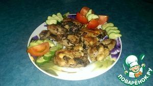 Рецепт Курица в греческом маринаде