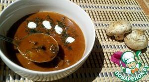 Рецепт Грибная подлива (бабушкин рецепт)