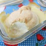 Творожно-лимонный пудинг с меренгой