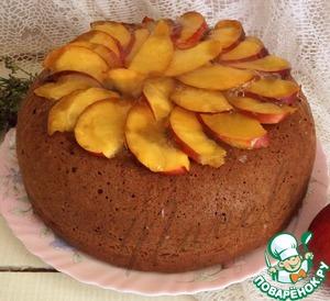 """Рецепт Пирог с яблоками и ягодами """"Летняя рапсодия"""""""