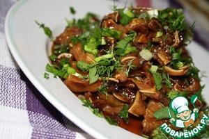 Рецепт Свиные ушки в соевом соусе