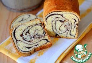 Рецепт Хлеб сдобный с корицей