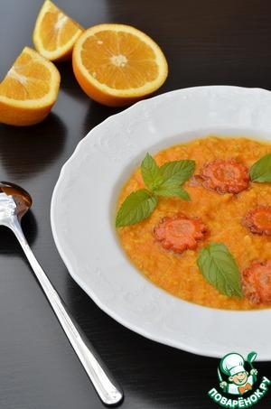 Рецепт Каша геркулесовая с карамельной морковью