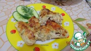 Рецепт Крылышки в кефирно-горчичном соусе