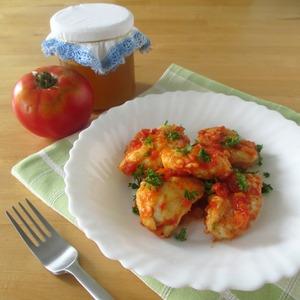 Рецепт Куриное филе с помидорами и медом