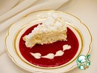 Охлажденный торт из раскрошенного безе с хрустящей начинкой из лесного ореха ингредиенты