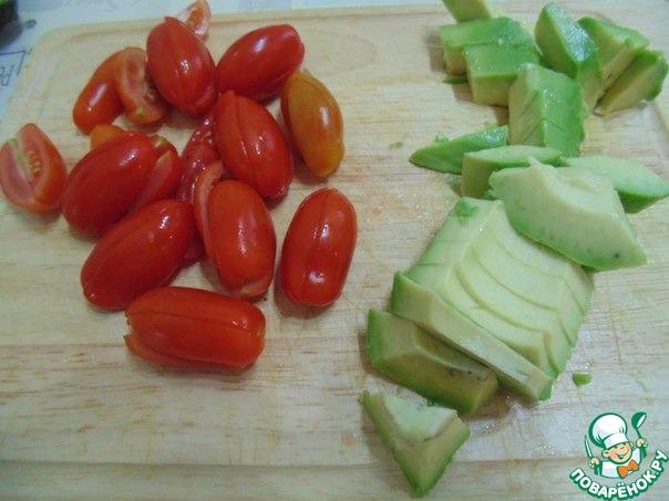 рецепт салата с печенью и овощами