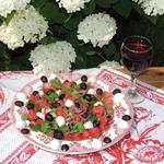 Арбузный салат Summer