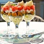 Веррин с тремя соками, арбузом и фетой