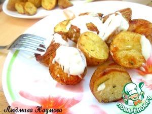Рецепт Печеная картошка с соусом по-испански