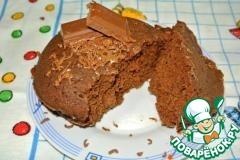 Рецепт Обалденный кекс в кружке за 3 мин