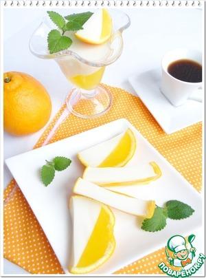 Рецепт Молочно-апельсиновое желе