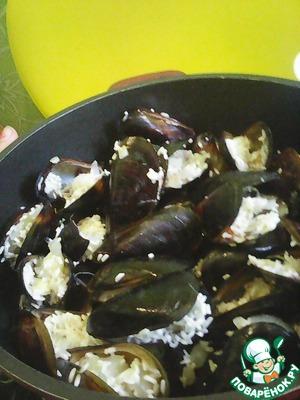 Рецепт Керченский плов (пилав) из мидий