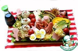 Рецепт На пикник с Бэнто и Онигири