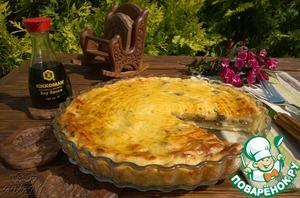 Рецепт Картофельный пирог с куриной печенкой