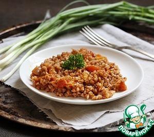 Рецепт Гречка с томатом