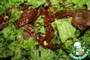 Рецепт Салат а-ля восточный с утиной грудкой