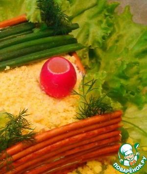 "Рецепт Белый салат "" Веселый колодец"""