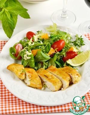 Рецепт Куриные грудки в кукурузной панировке
