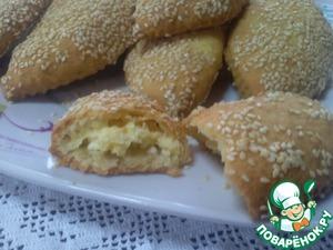 Рецепт Пирожки с сыром Фета