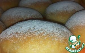 Готовим Сдобные булочки с начинкой вкусный рецепт приготовления с фотографиями пошагово