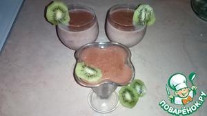 Рецепт Молочно-шоколадный пудинг