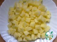 Салат овощной с мясом курицы ингредиенты