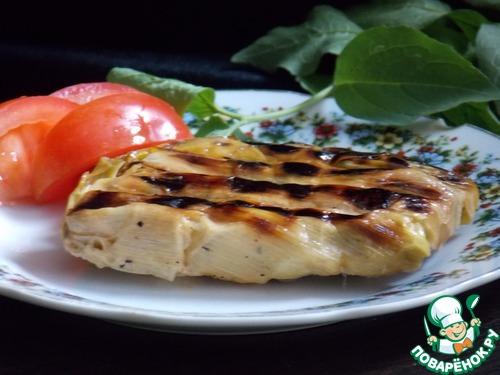 Рыба на гриле в порее – кулинарный рецепт
