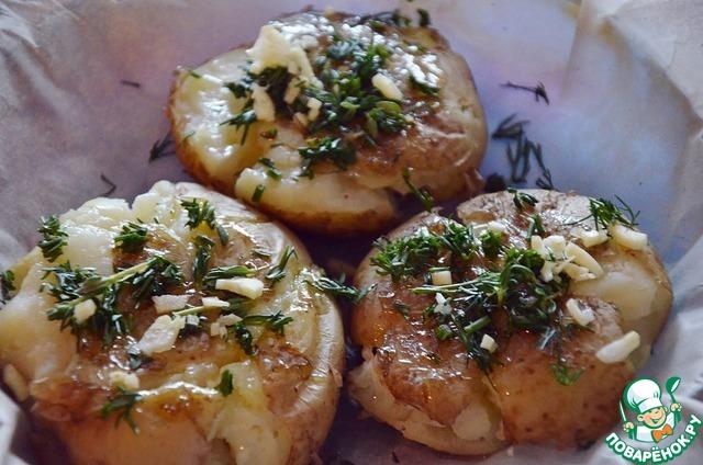 Горяченькие штучки из картофеля постные