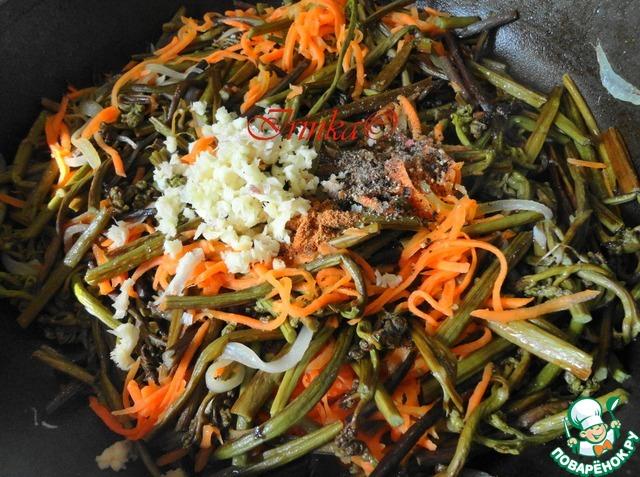 папоротник салат рецепт