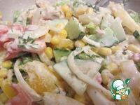 Летний салат с тунцом + заправка-соус с нотками базилика ингредиенты