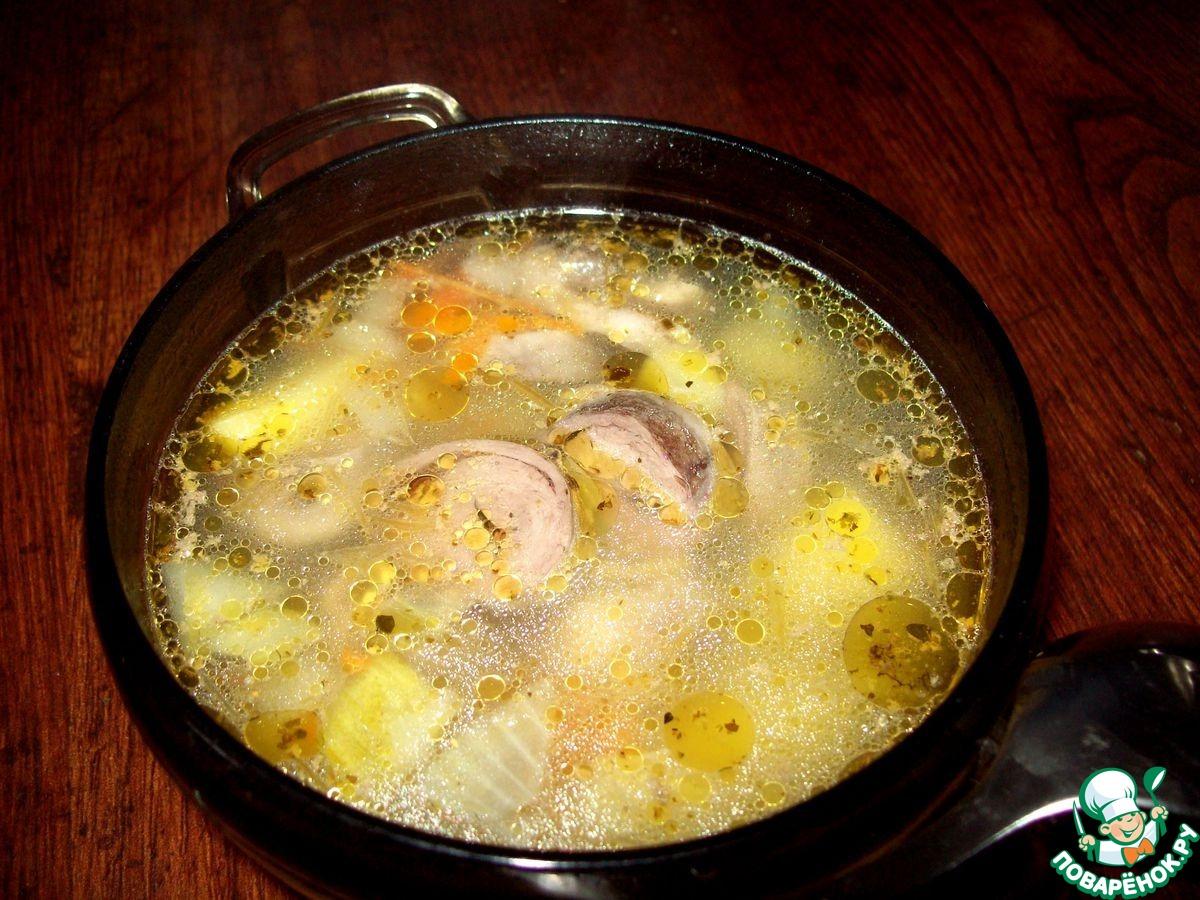 Суп в мультиварке пошаговый рецепт с курицей