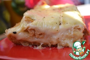 Рецепт Запеченный сыр с хлебом