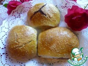 Рецепт Сладкие булочки на закваске