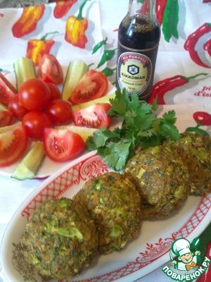 Рецепт Овощные котлеты с брокколи