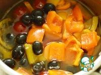 Сыр маринованный с овощами ингредиенты