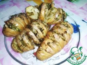 Рецепт Запеченный картофель с травами