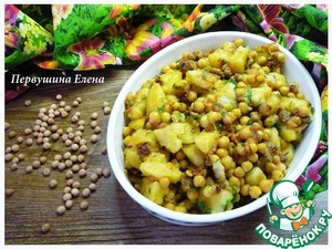 Рецепт Бобово-овощное рагу со шкварками